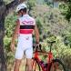 Maillot sans manches EKOI COMP10 Blanc Rouge Noir