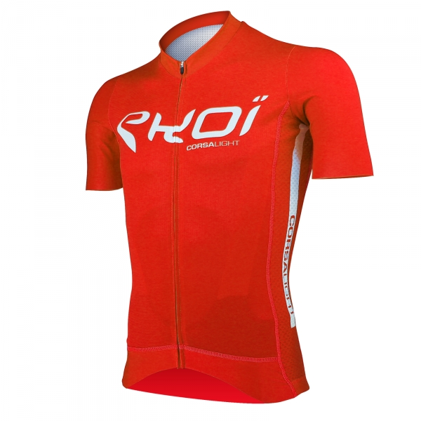 EKOI Corsa Light Red short sleeve jersey