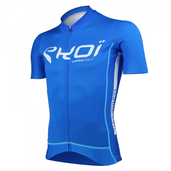 Shirt EKOI Corsa Light Blauw