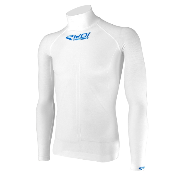 Top EKOI ML Tech 4 Col haut blanc