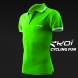 Polo men EKOI Cycling Fun Vert