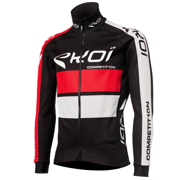 EKOI COMP10 CONNECT Black / Red thermal winter jacket