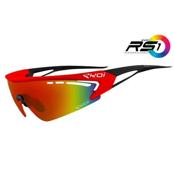 Limitovaná edice brýle RS1 EKOI LTD Červená/Černá čočky Revo