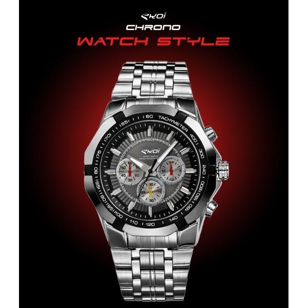 Zegarek EKOI WATCH STYLE czarny