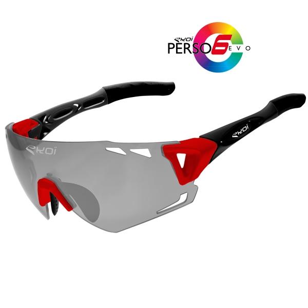Persoevo6 EKOI LTD Rouge Noir mat Cat1-2