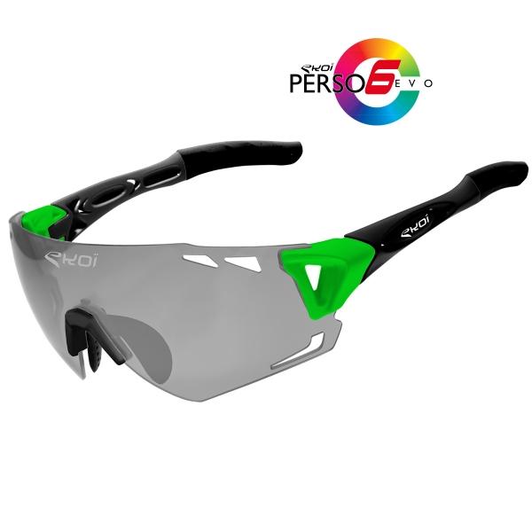 Brýle Persoevo6 EKOI LTD Zelená/Černá matné Kat1-2