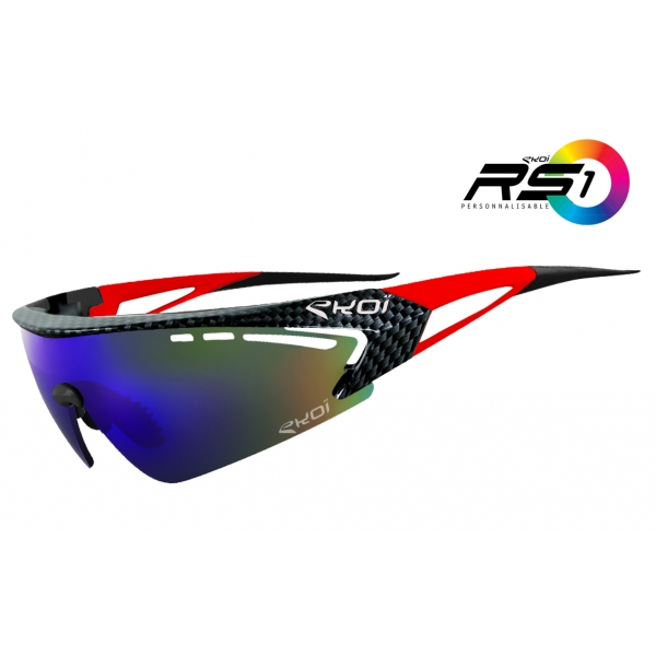 RS1 EKOI LTD Carbone Rouge Revo Bleu