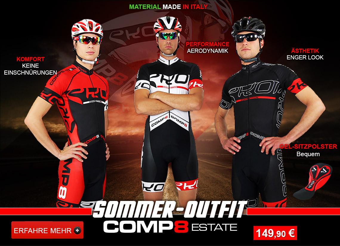 Combinaisons vélo EKOI Competition8 Estate