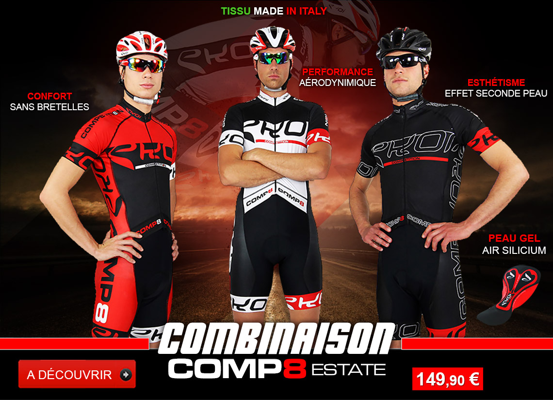 Combinaisons vélo EKOI Competition8 Estate