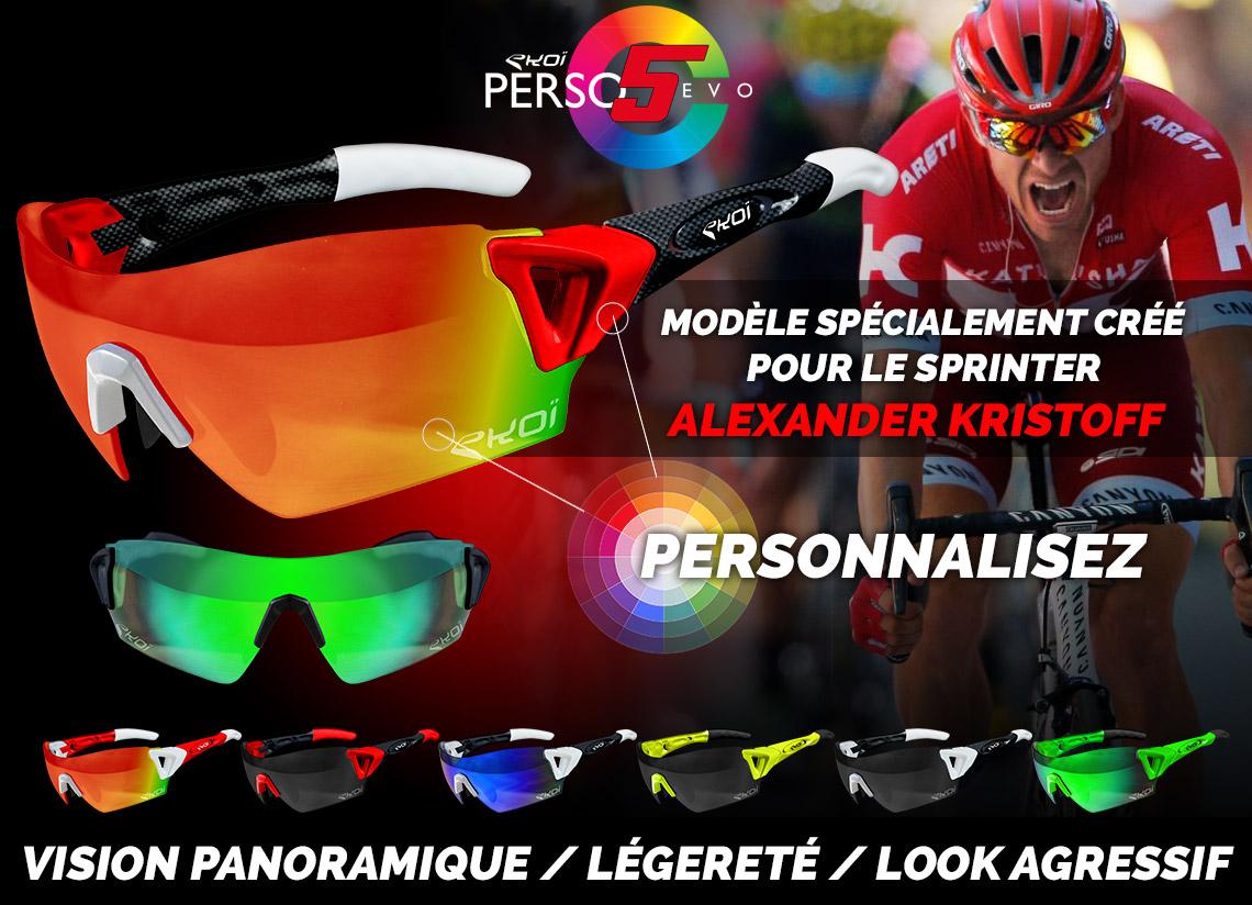 lunettes custom alexander kristoff tour de france pro tour