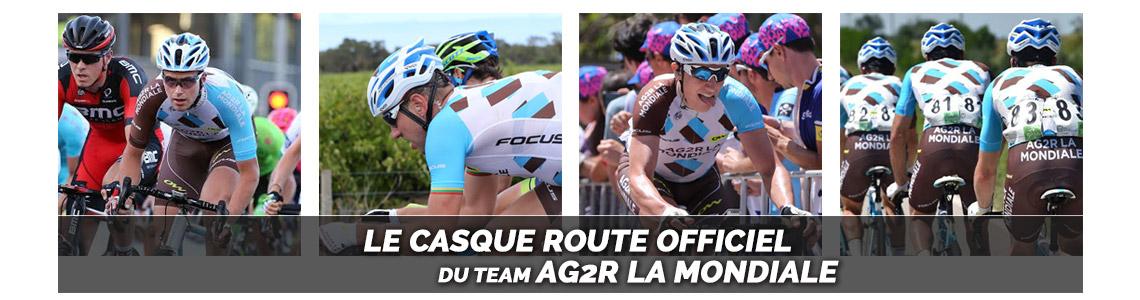 casque vélo route team ag2r la mondiale