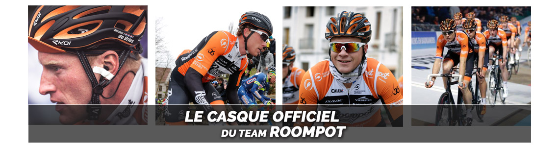 casque vélo team ROOMPOT