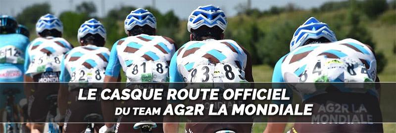 casque vélo route corsa light team route ag2r la mondiale