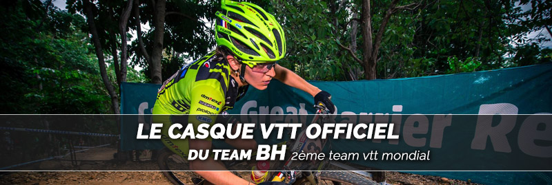casque vélo route corsa light team vtt bh ekoi