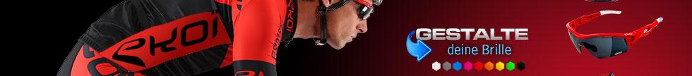 Personnaliser mes lunettes vélos EKOI