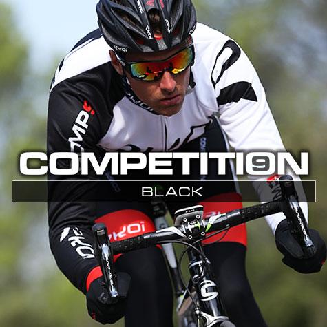 Gamme vélo automne hiver Noire Comp9