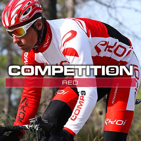 Gamme vélo automne hiver Rouge Comp9