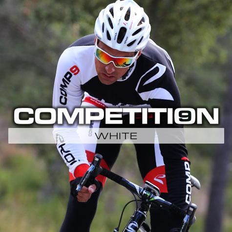 Gamme vélo automne hiver Blanc Comp9