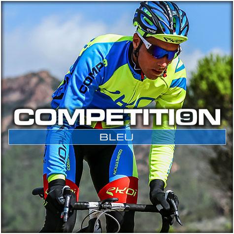 Gamme vélo automne hiver Bleu Comp9