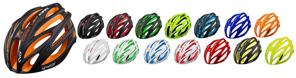 casque avec EPS multicolore