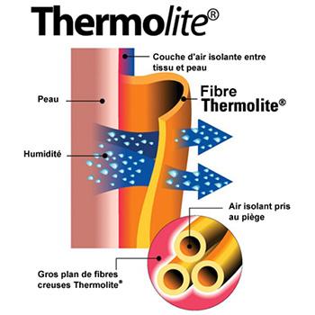 Fibre thermolite hiver EKOI