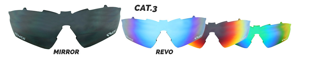 verre solaire lunettes vélos revo categorie 3