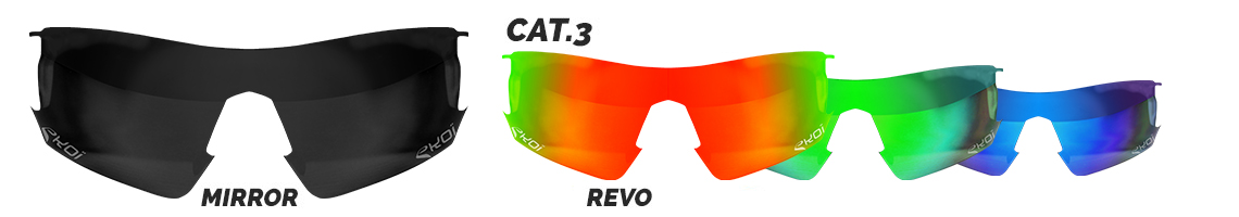 verre de rechange lunettes revo catégorie 3