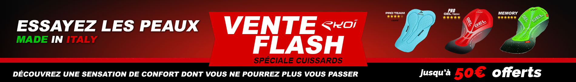 Vente Flash speciale CUISSARDS