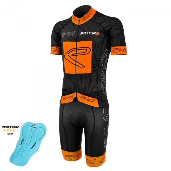 Pack EKOI Carbon Fiber 2 Proteam Orange Fluo