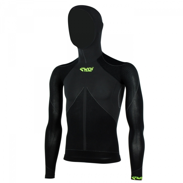 Top EKOI ML TECH 3 Capuche Noir