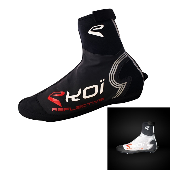 Couvre chaussures EKOI Reflective Noir