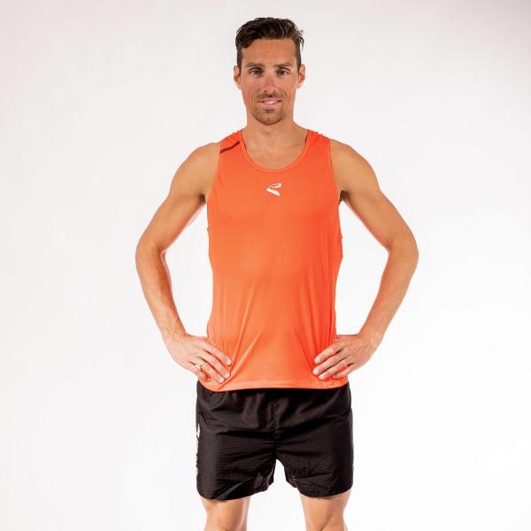 Débardeur athlétisme EKOI RUN Orange