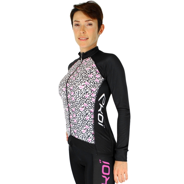 Maillot manches longues EKOI LADY Letters Pink