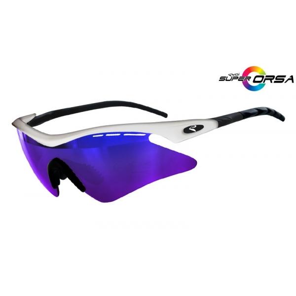 Super Corsa EKOI LTD Blanc noir mat Revo Bleu