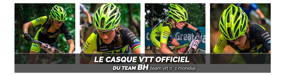 casque vélo vtt team BH