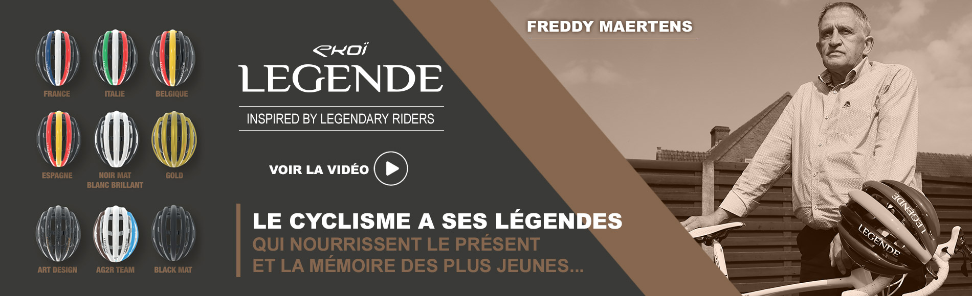 Caque EKOI LEGENDE Freddy Martens