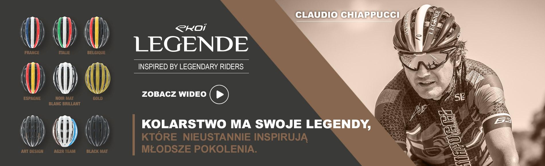 Casque EKOI LEGENDE Claudio Chiappucci