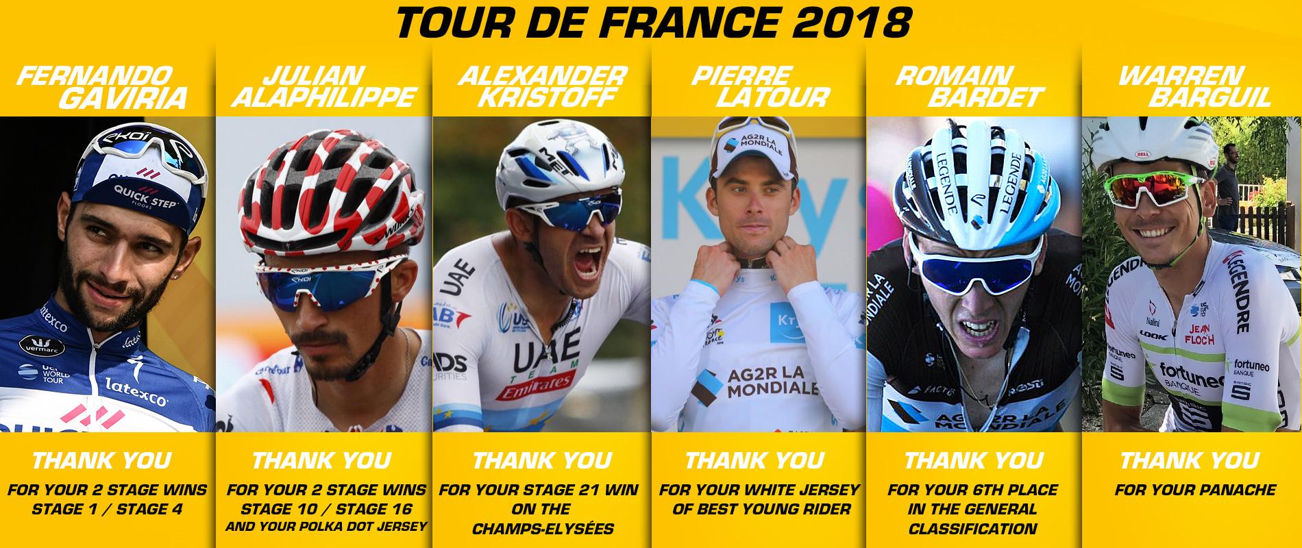 Tour de France 2018 Merci EKOI