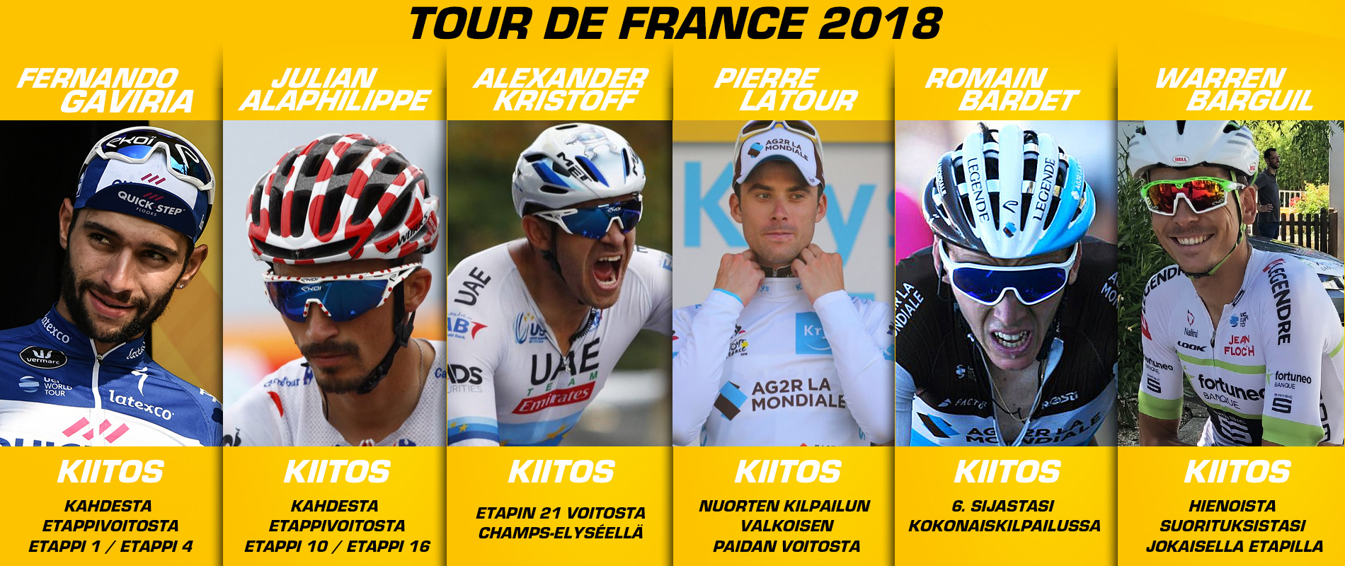 Tour de France 2018 Merci EKOI