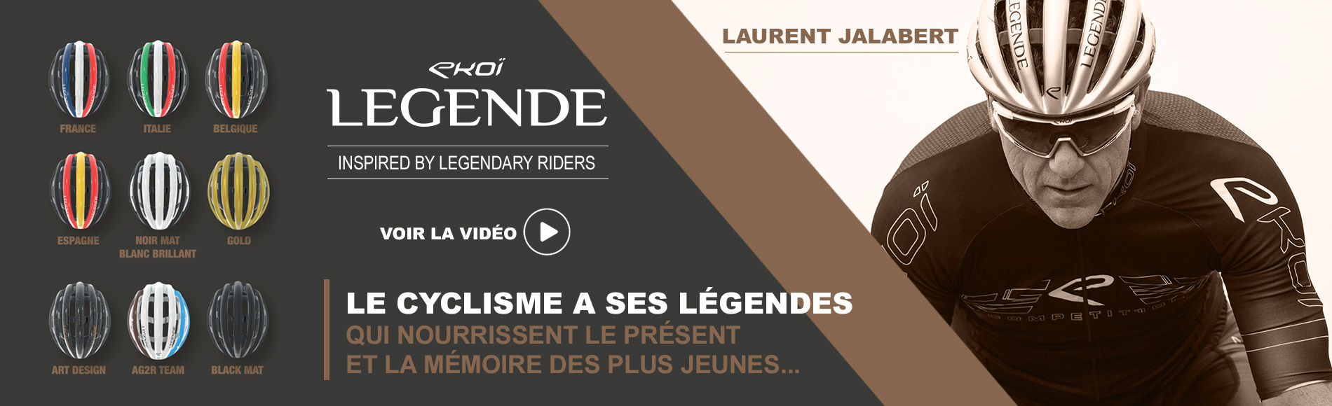 Caque EKOI LEGENDE Laurent Jalabert