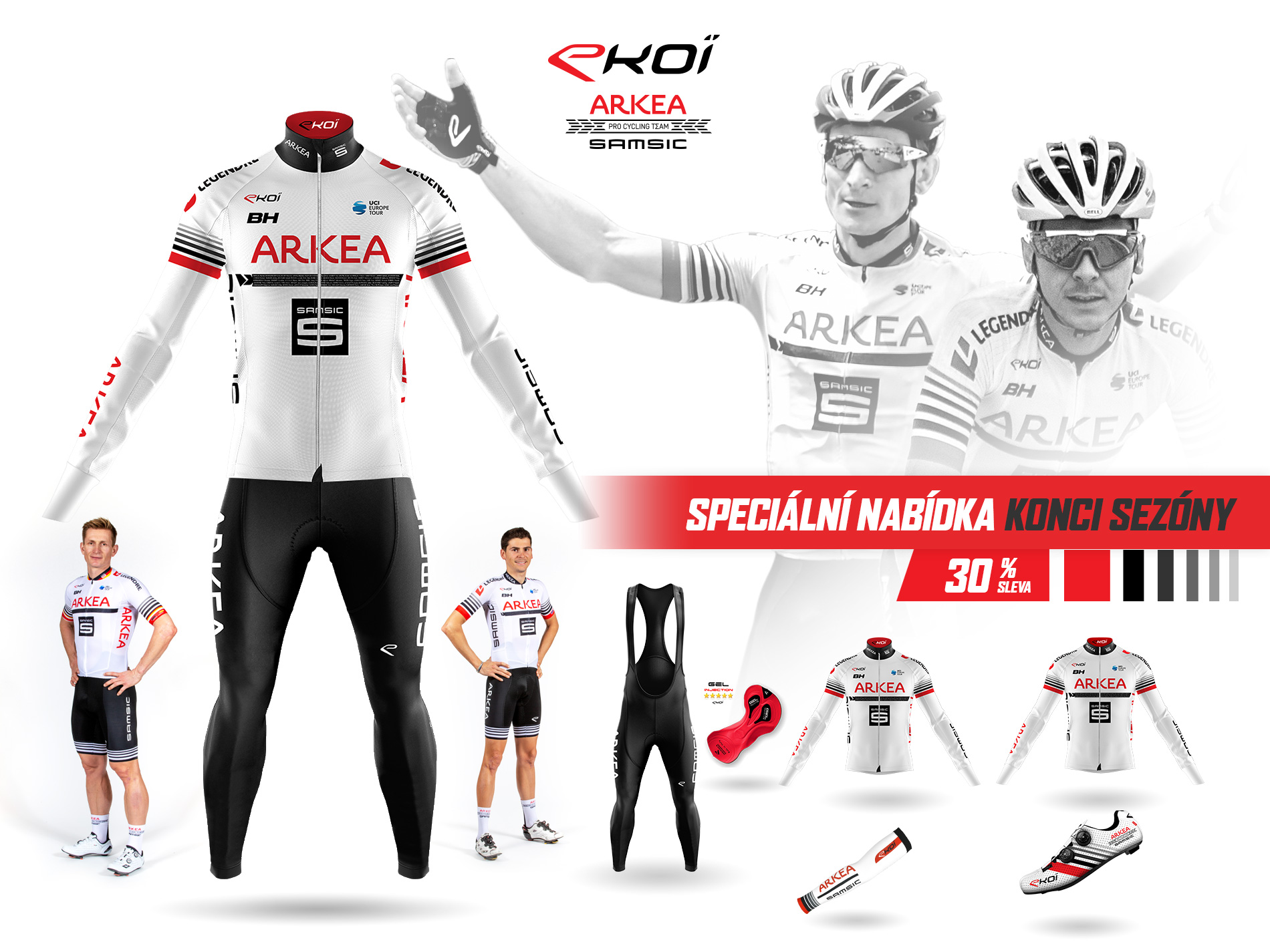 EKOI ARKEA SAMSIC cycling pro team