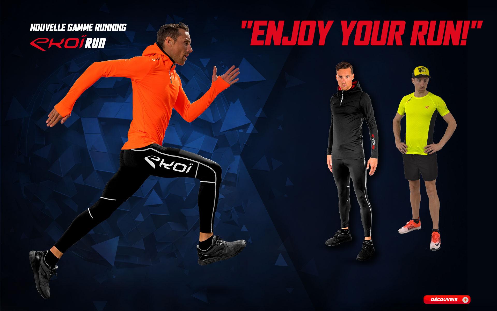 Nouvelle gamme Running EKOI 2018