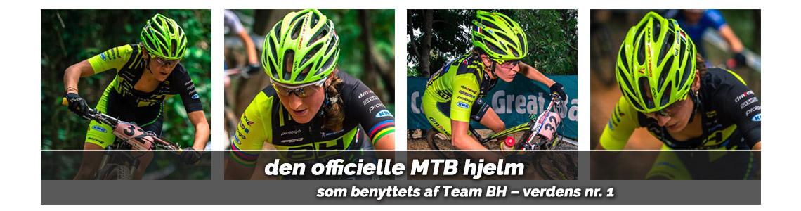 mountainbikehjelm team BH