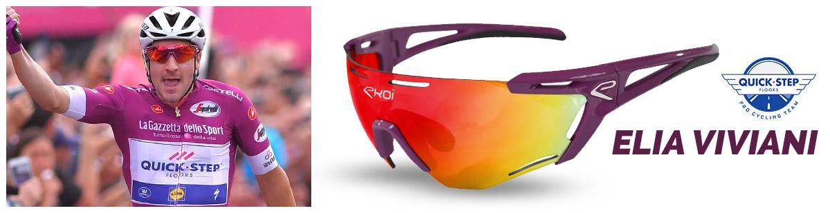 Lunettes EKOI Persoevo9 la lunette des pros Giro quickstep