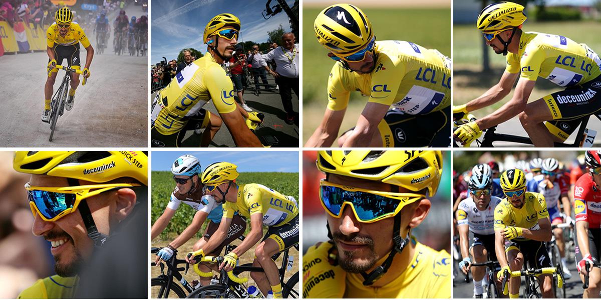 Lunettes Tour de France 2019 Julian Alaphilippe PERSO EVO9