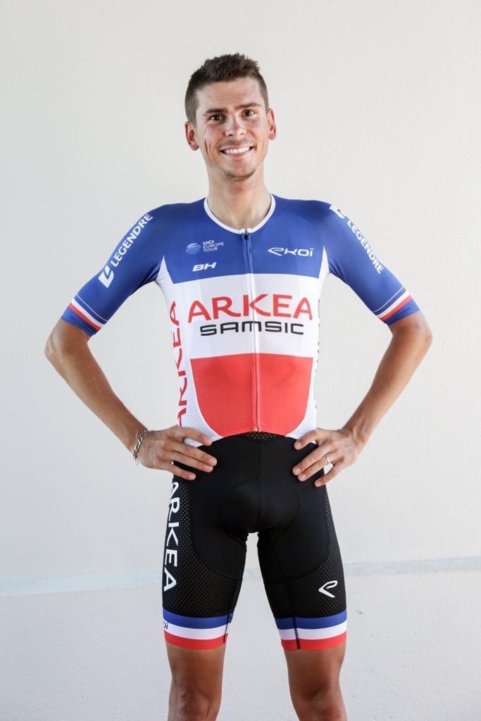 Warren Barguil Champion de France ARKEA SAMSIC
