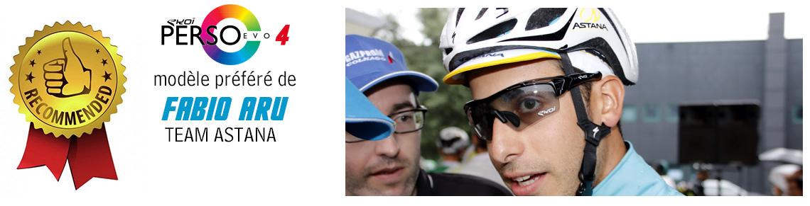 la lunette vélo de fabio aru team astana