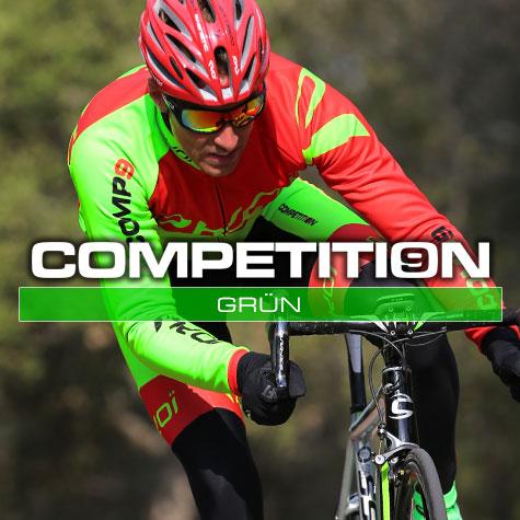 Gamme vélo automne hiver Vert fluo Comp9