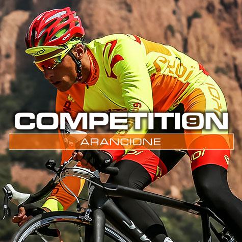 Gamme vélo automne hiver orange fluo Comp9