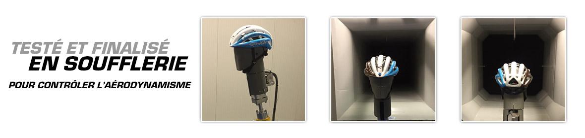 Kask EKOI LEGENDE przetestowany w tunelu aerodynamicznym